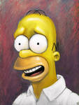 Homer by mattahan