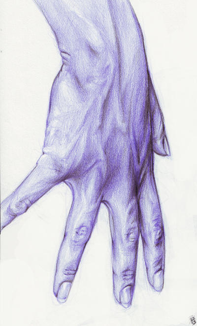Purple Hand by mattahan