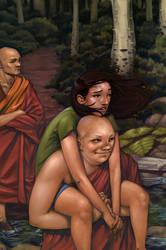 Monks by mattahan