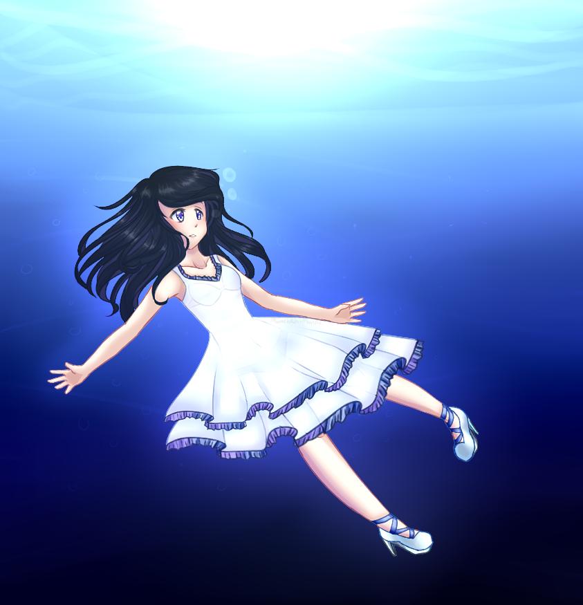 Ocean Blue by ivrinne