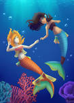 Into The Reef by ivrinne