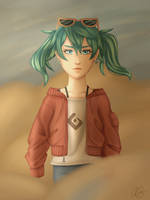 Sand Planet by ivrinne