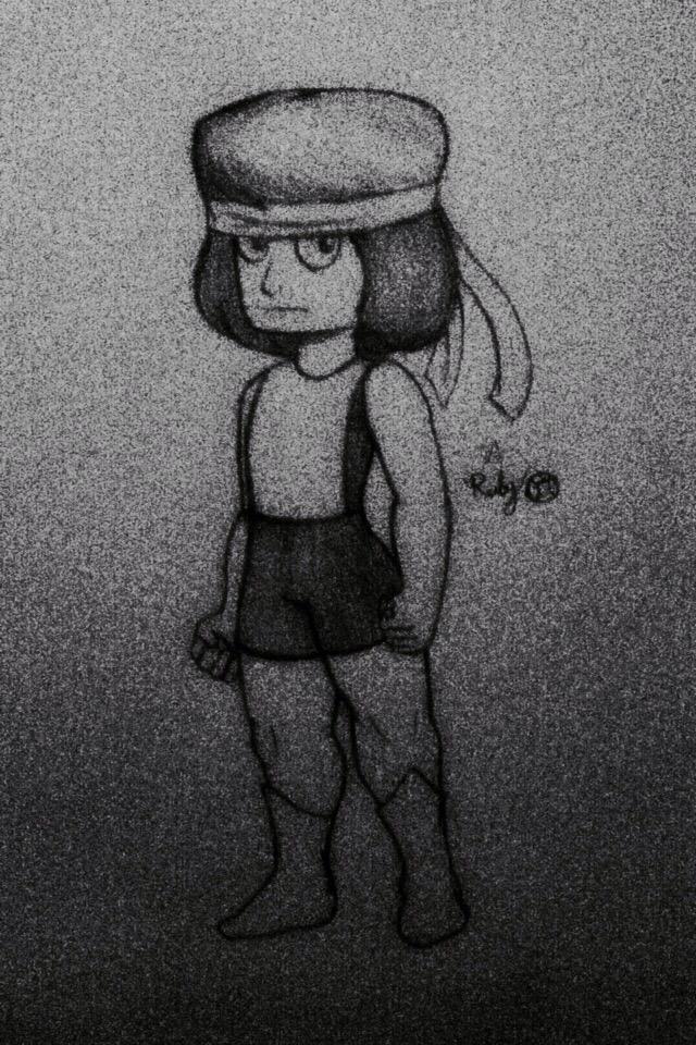 Ruby (Steven Universe) by CrowDeCorvidae