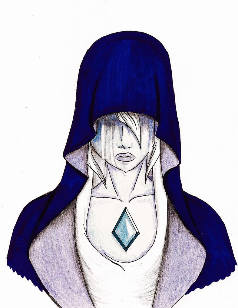 Steven Universe - Blue Diamond by CrowDeCorvidae