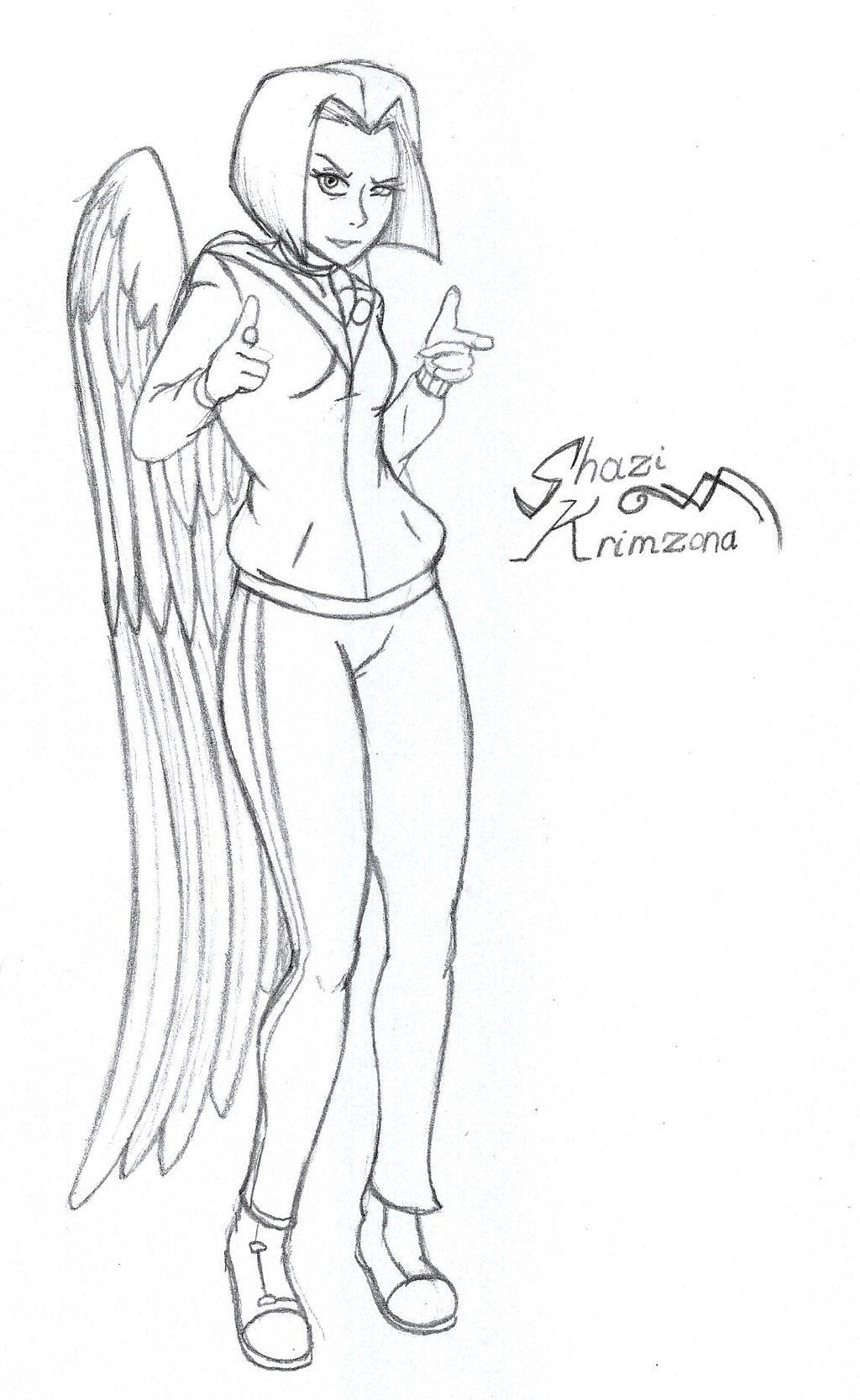 Shazi Krimzona Concept 01 by CrowDeCorvidae
