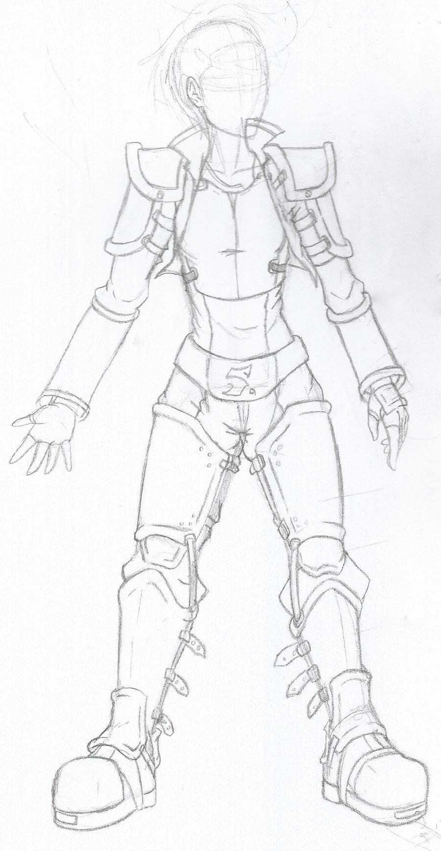 Aetherian Armour - Moderate set. by CrowDeCorvidae