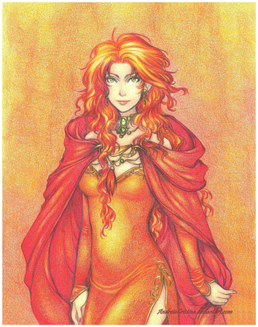 Fire Queen by AndieCris