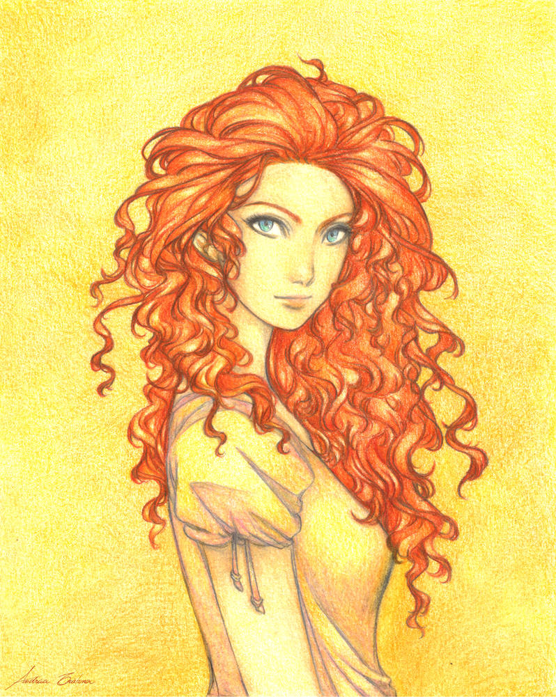Red Hair by AndieCris