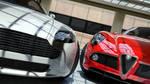 Alfa Romeo 8C and Aston Martin Vantage