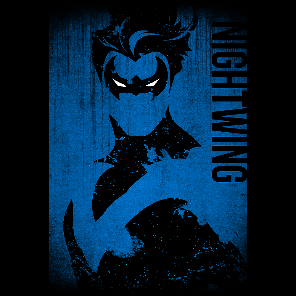 nightwing by thallos on deviantart