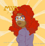 Mya by sketches-that-slay