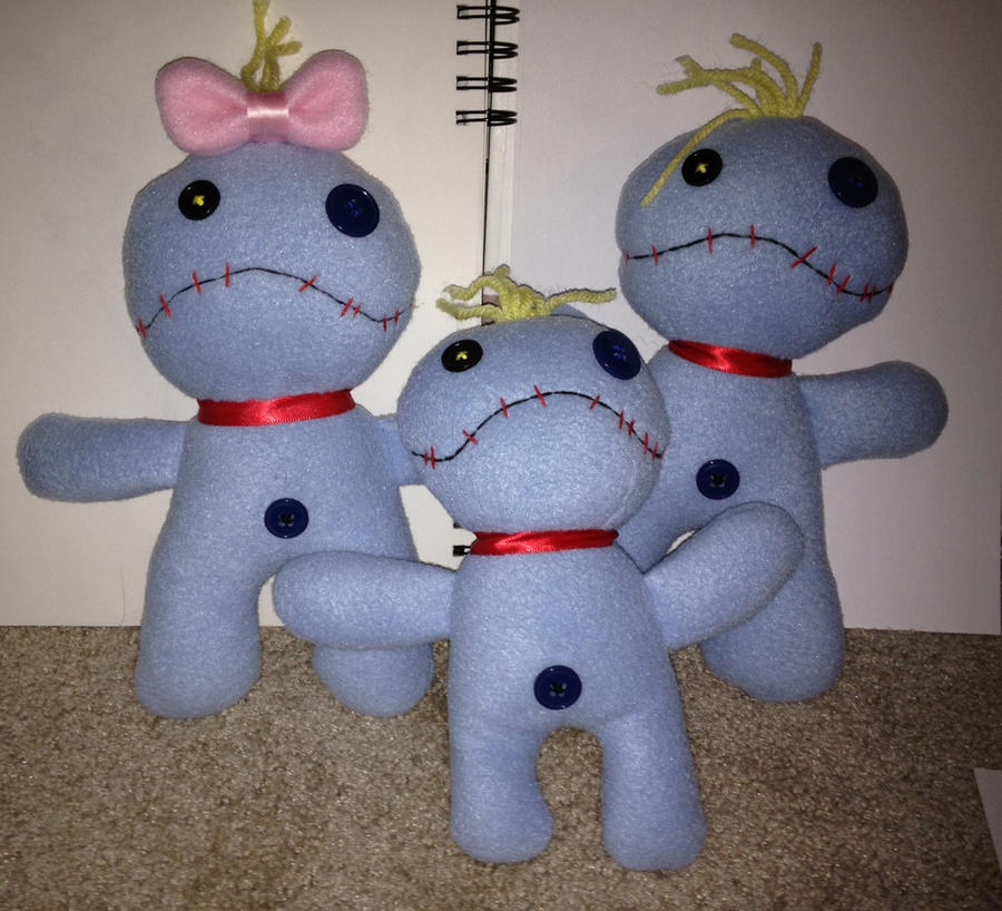 Disney lilo and stitch 39 s scrump family by aleeart7 on for Lilo and stitch arts and crafts