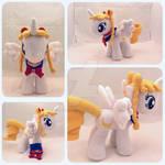 OC Sailor Moon My Little Pony Plush OOAK