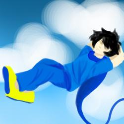 John Chillaxin In The Sky 1 by Girly-Nerd