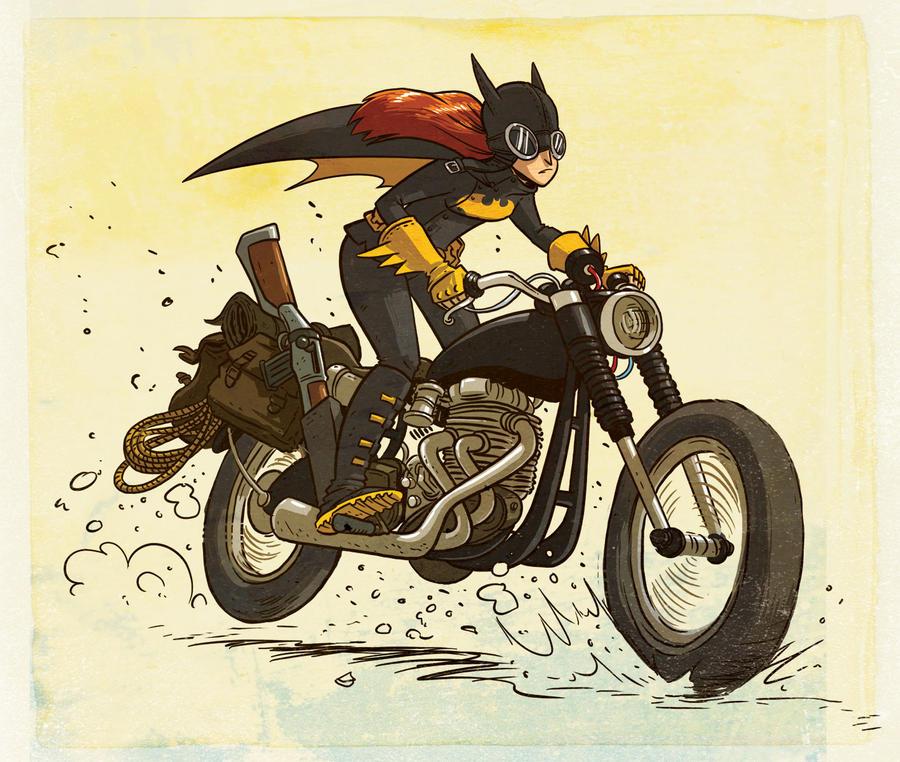 Batgirl by Douglasbot