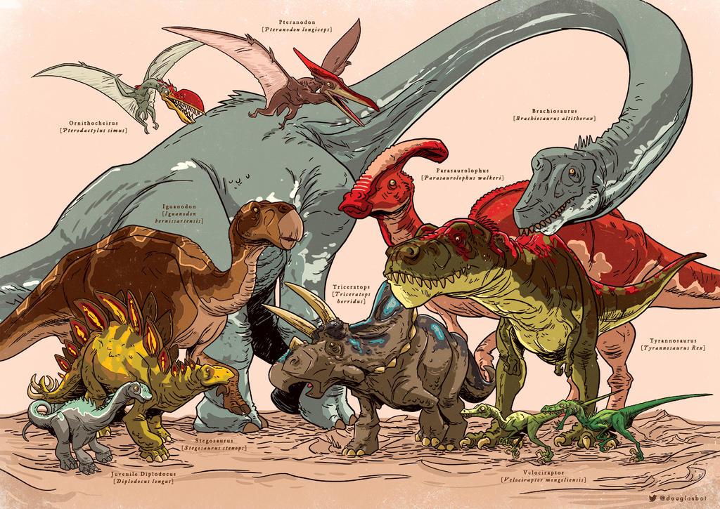 Dinosauria by Douglasbot