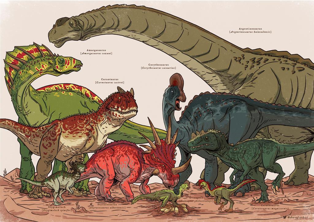 Dinosauria II by Douglasbot