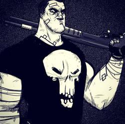 The Punisher by Douglasbot