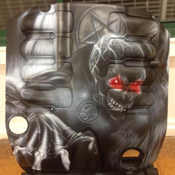 Airbrush Engine Cover by AirbrushEffect