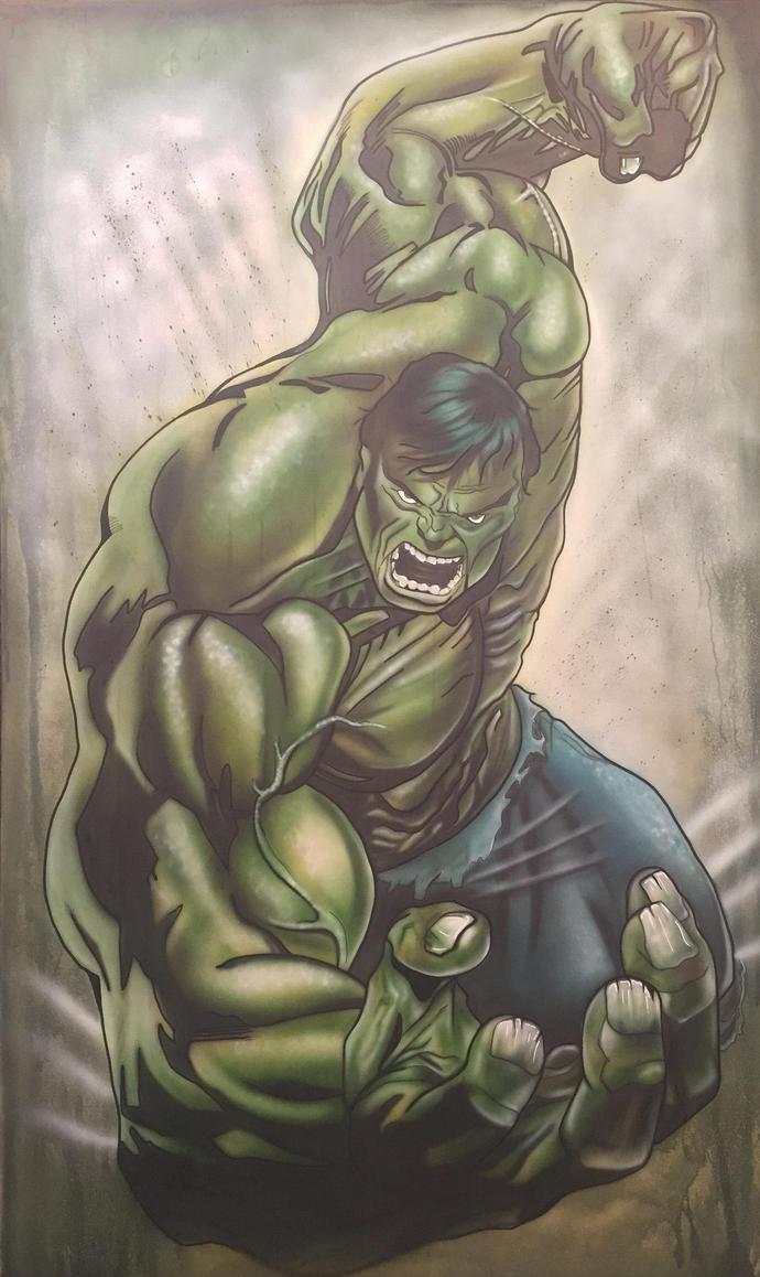 The Hulk by AirbrushEffect
