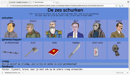 de 6 Schurken preview by bermarte