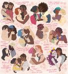 [OC and FANART] National girlfriends day !