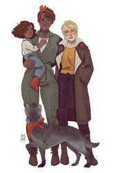 [Fallout] Capital Wasteland Family by Qursidae
