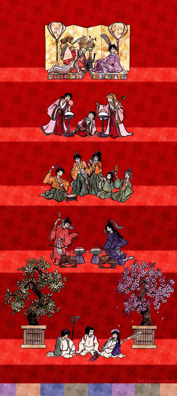 Sket Dance Doll's Festival by FairyKitsch