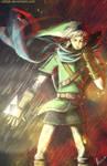 Linking Hyrule (Hyrule Warriors fan art)