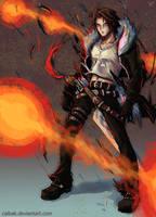 Squall Leonheart (Final Fantasy VIII) by Calbak