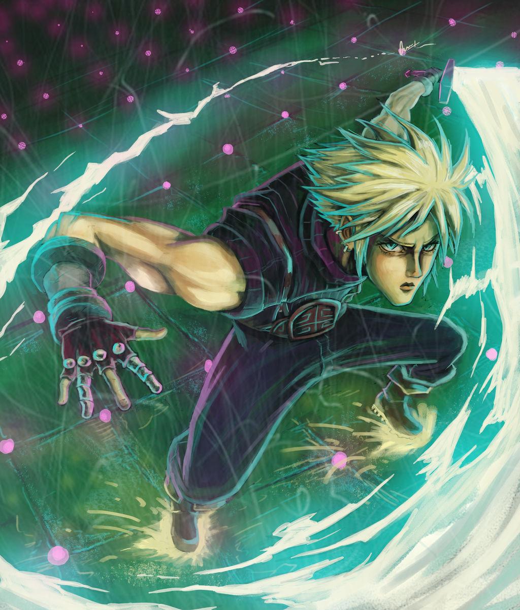 Cloud Strife Final Fantasy Vii Remake By Calbak On Deviantart