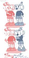 {The Fandom} Cuphead Comic by MeepCreep
