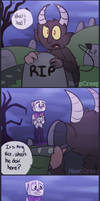 What a Baby (Cuphead Comic) by MeepCreep
