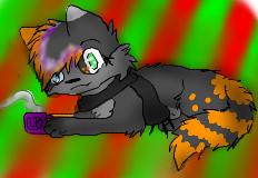 Giftart: Shinx2eevee - LATE - by Toxic-Lullabies