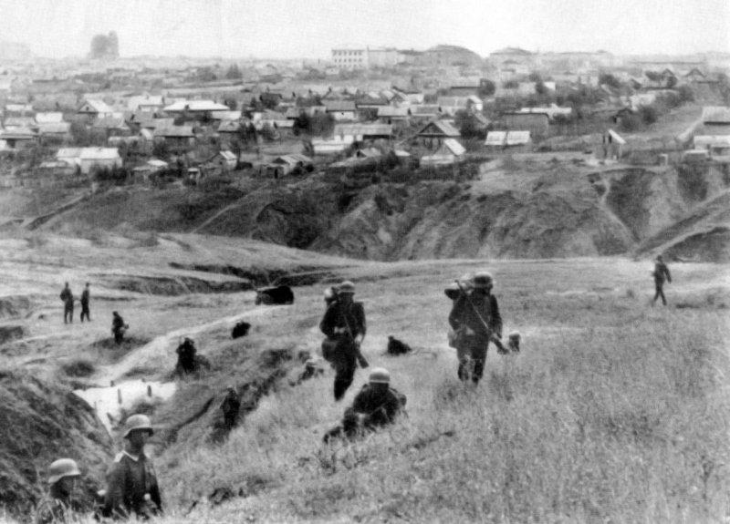 German soldiers by RussianBear2345