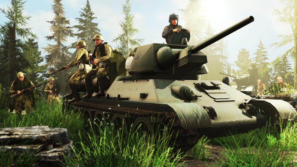 Tank troopers. by RussianBear2345