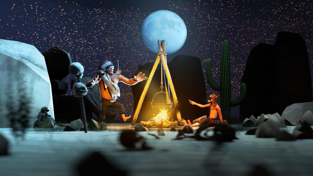 Campfire by RussianBear2345
