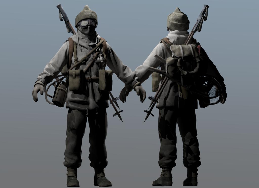Commando Winter by RussianBear2345