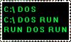 See DOS run by Jadedroseseal