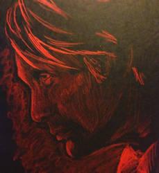 Hannibal Lecter by Jadedroseseal