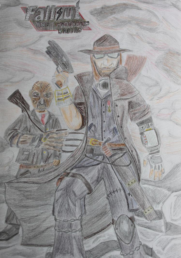 Fallout - The Watchmans Ballad by Matt-art4life