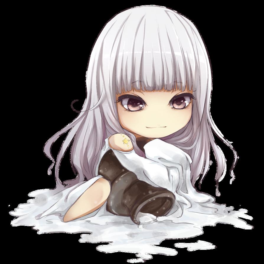 The Aquarius girl chibi by yibingling on DeviantArt  Anime Aquarius