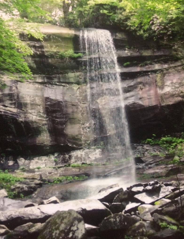 Rainbow Falls (Gatlinburg TN) by Euphoric-Babe