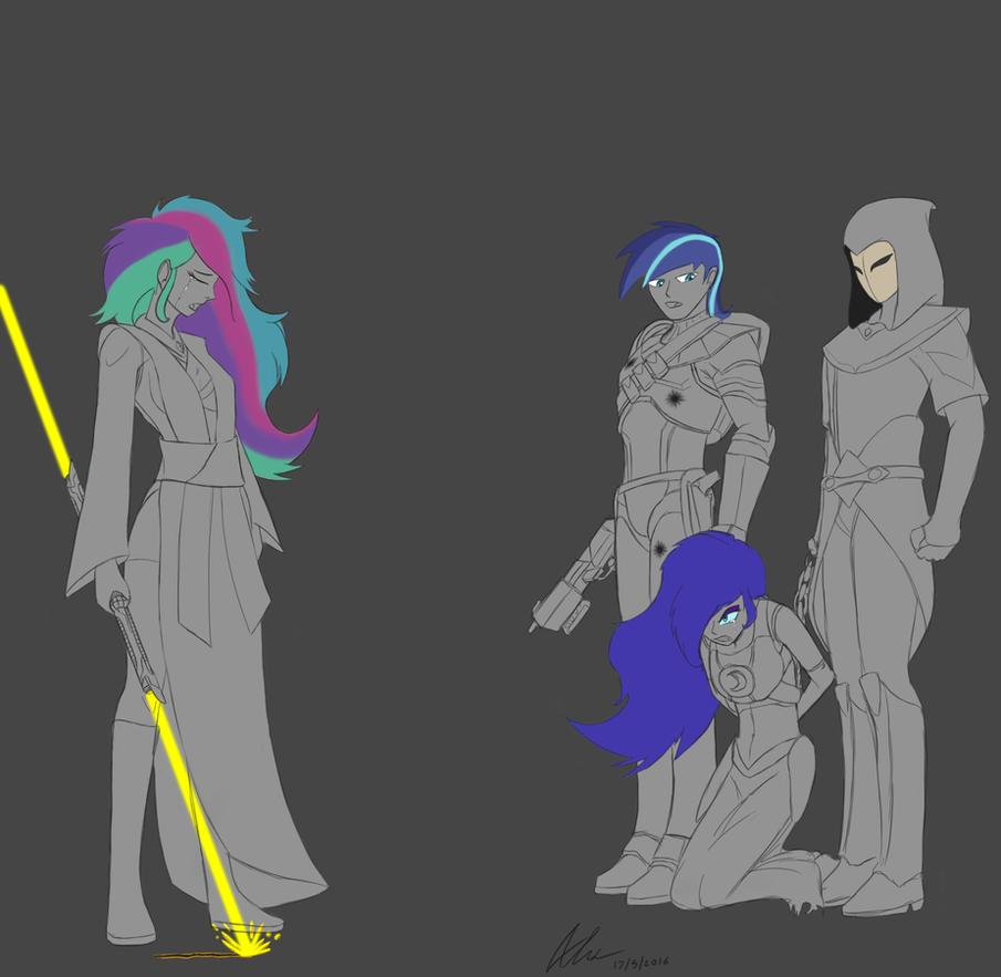 Friendship is Force: Imprisoning a fallen Luna by Evanzblack