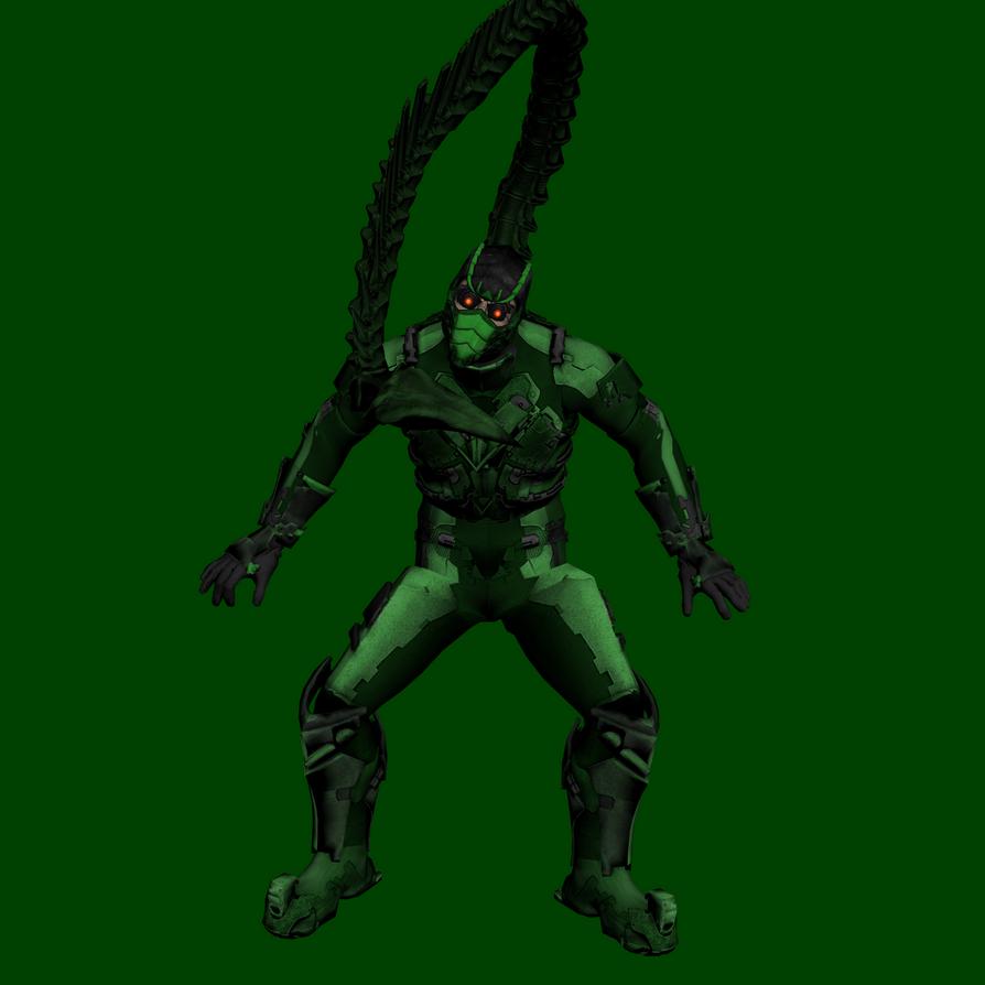 Earth X3B1 - Scorpion by hank412 on DeviantArt
