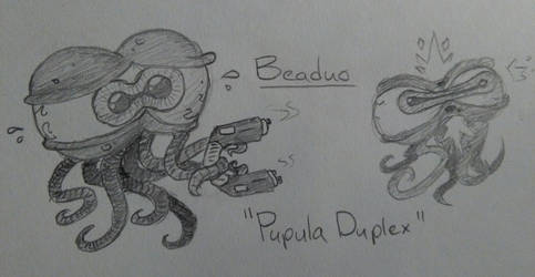 Beaduo (Enter the Gungeon Enemy Idea)