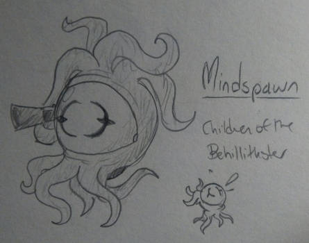 Mindspawn (Enter the Gungeon Enemy Idea)