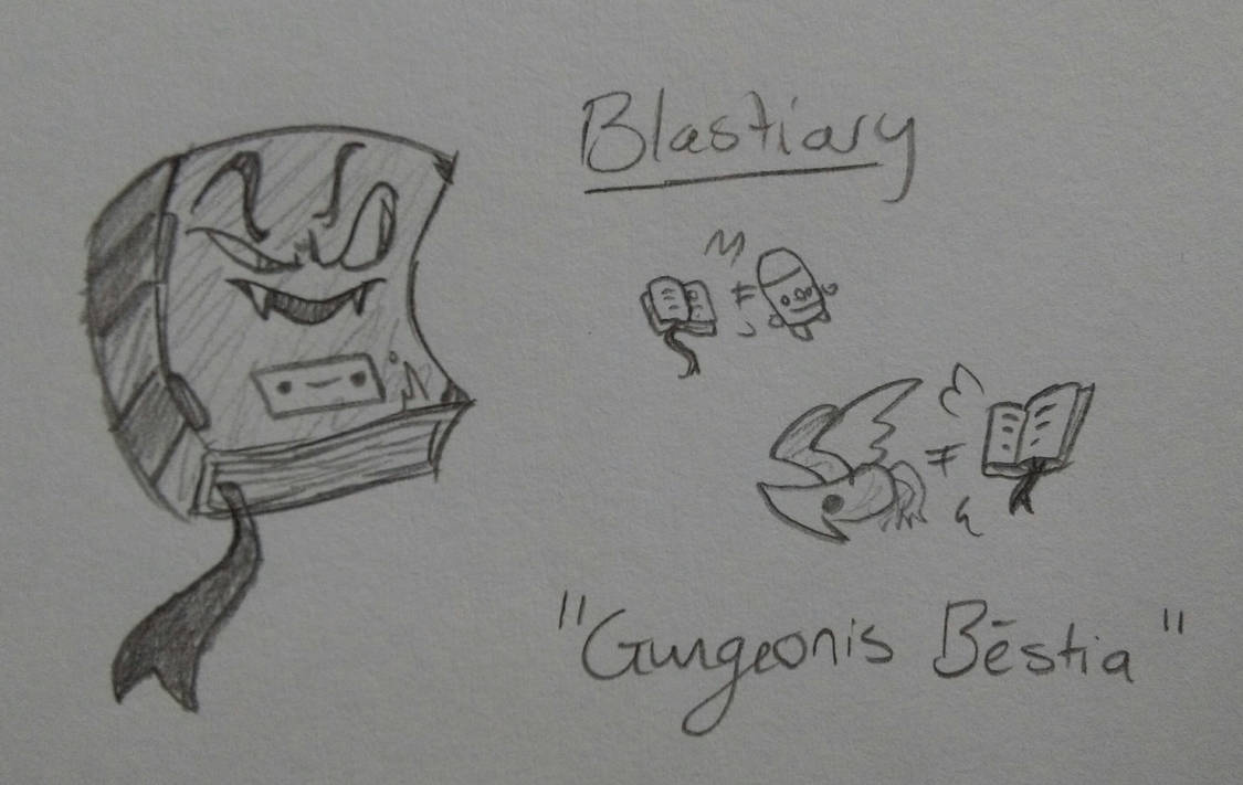 Blastiary (Enter the Gungeon Enemy Idea) by Nevernamed22 on