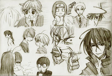 Sketch dump pt6 by DragonfireXAgent