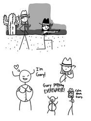 West of Loathing doodles by MissArtisticDraws